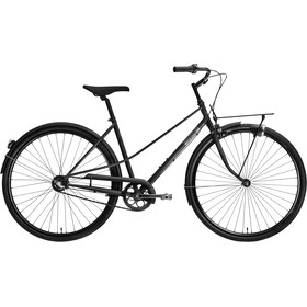 Creme Caferacer Uno Trapeze 3-speed, silk black
